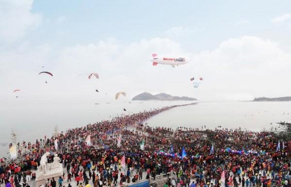 현대판 모세의 기적 진도 신비의 바닷길 축제 개막…19일까지 열려(자료사진).jpg
