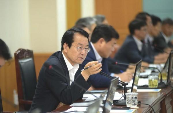 김종식 목포시장, 취임 첫 확대간부회의 주재.JPG