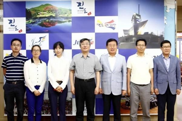 진도군, 청도국신그룹 등 中기업 초청 진도항 투자유치 설명회 개최.jpg