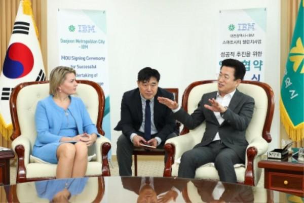 [크기변환]대전시'스마트시티 챌린지사업'에 IBM 힘 보탠다 (2).JPG