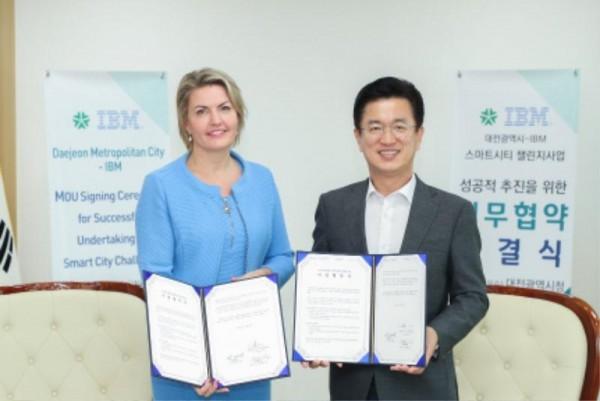 [크기변환]대전시'스마트시티 챌린지사업'에 IBM 힘 보탠다 (3).JPG