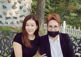 한류스타 신성훈, '워너비 스타 현영' 근황 공개..'여전히 예쁜 다은이 엄마'
