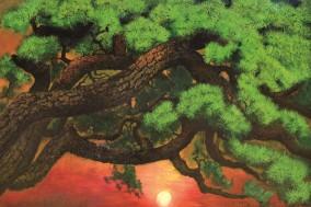 """조경 작가, 밝고 희망적 에너지 선사하는 """"가을 그리고 소나무"""" 개인전"""