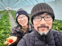 강진 청년농부 이남연 부부, 친환경 유기농딸기로 사랑받다