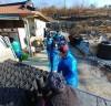 무안군 삼향읍 지역사회보장협의체, 연탄 나눔 행사 진행