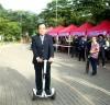 e-모빌리티, 불갑산 상사화 축제장을 달리다