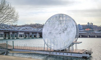 서울시, 노들섬에 인공달 뜬다… 일렁이는 한강과 환상적 조화 '달빛노들'