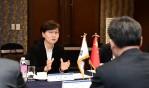 이화순 경기행정부지사, 장옌통 중국 국무원 참사실 부주임 접견