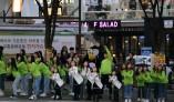 키즈 걸그룹 '드림아이원' 교통문화 거리 캠페인 '먼저가슈'참여