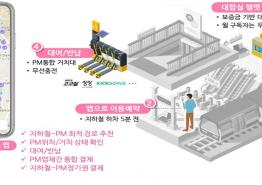 서울교통공사-KSTI, 지하철역 인근에 공유킥보드 시설 설치해 안전‧편리성↑