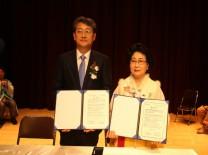 구례군 · 한국야생화사회적협동조합 업무협약(MOU) 및 국명인학교 창립과 명장·명인 인증수여식